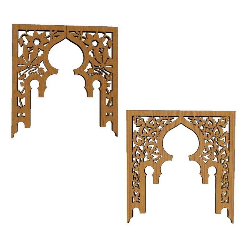 Scroll Saw Arch Pieces Of Tea Table