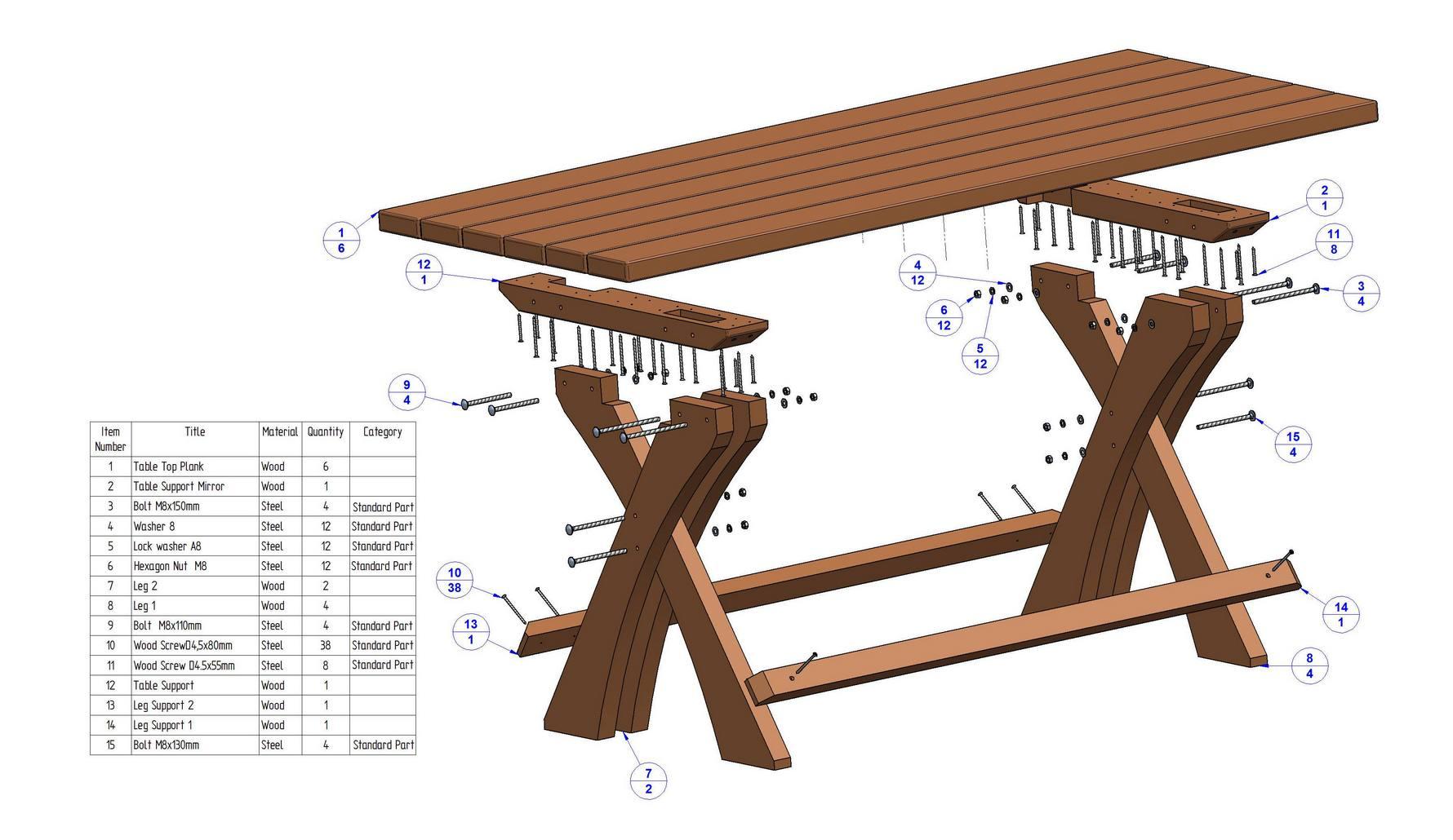 Lager Seating Set Plan