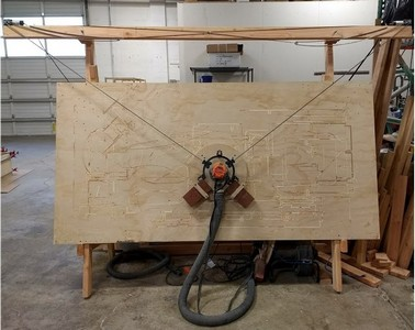 Maslow CNC router project