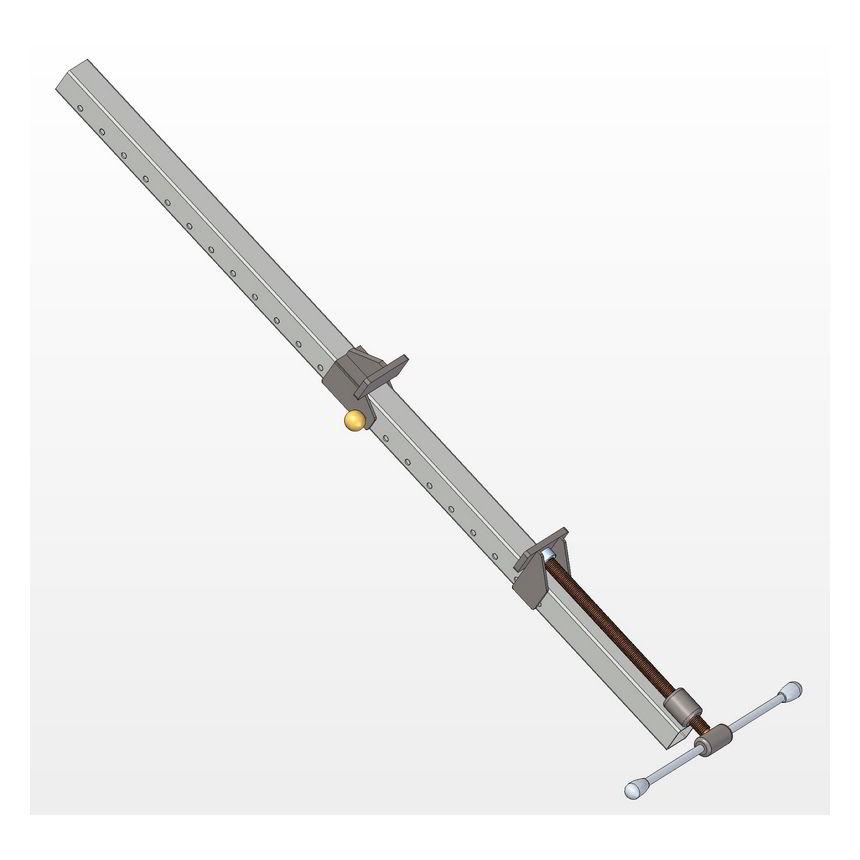 Metal Bar Clamp Plan