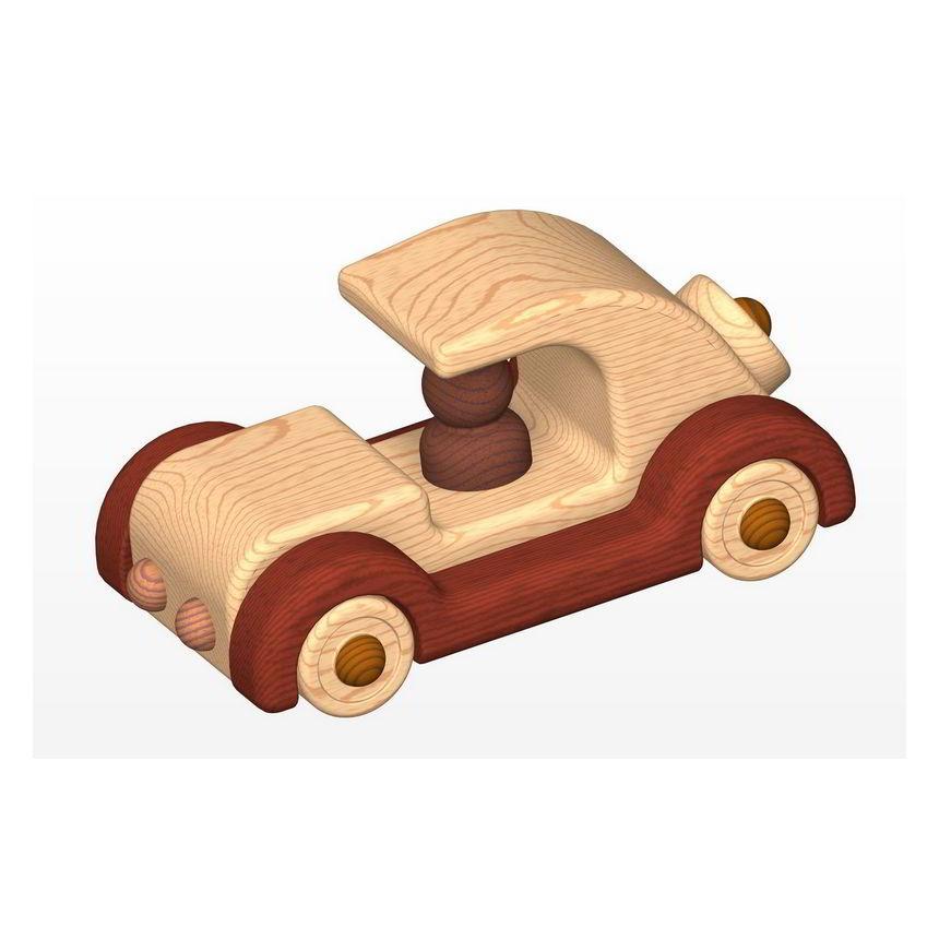 Old timer car kids toy plan (PDF) - 4,84Mb; 17Pages