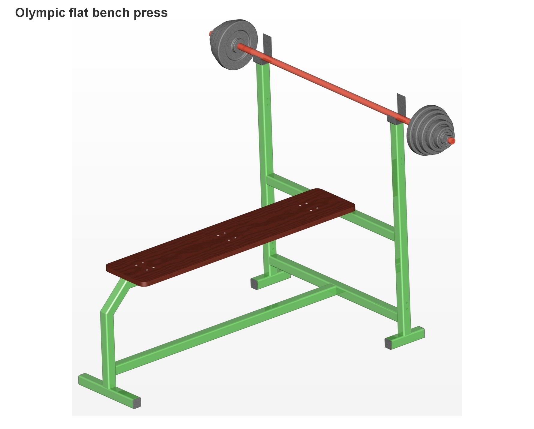 Olympic Flat Bench Press Plans