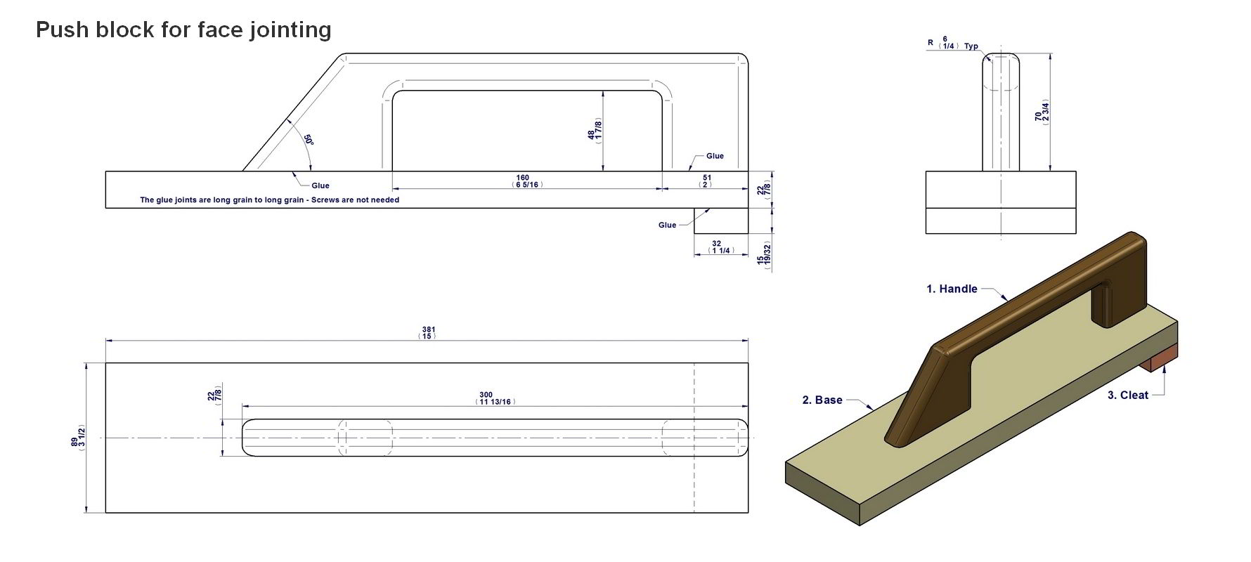 picture relating to Table Saw Push Stick Printable Template referred to as Force adhere and force block applications