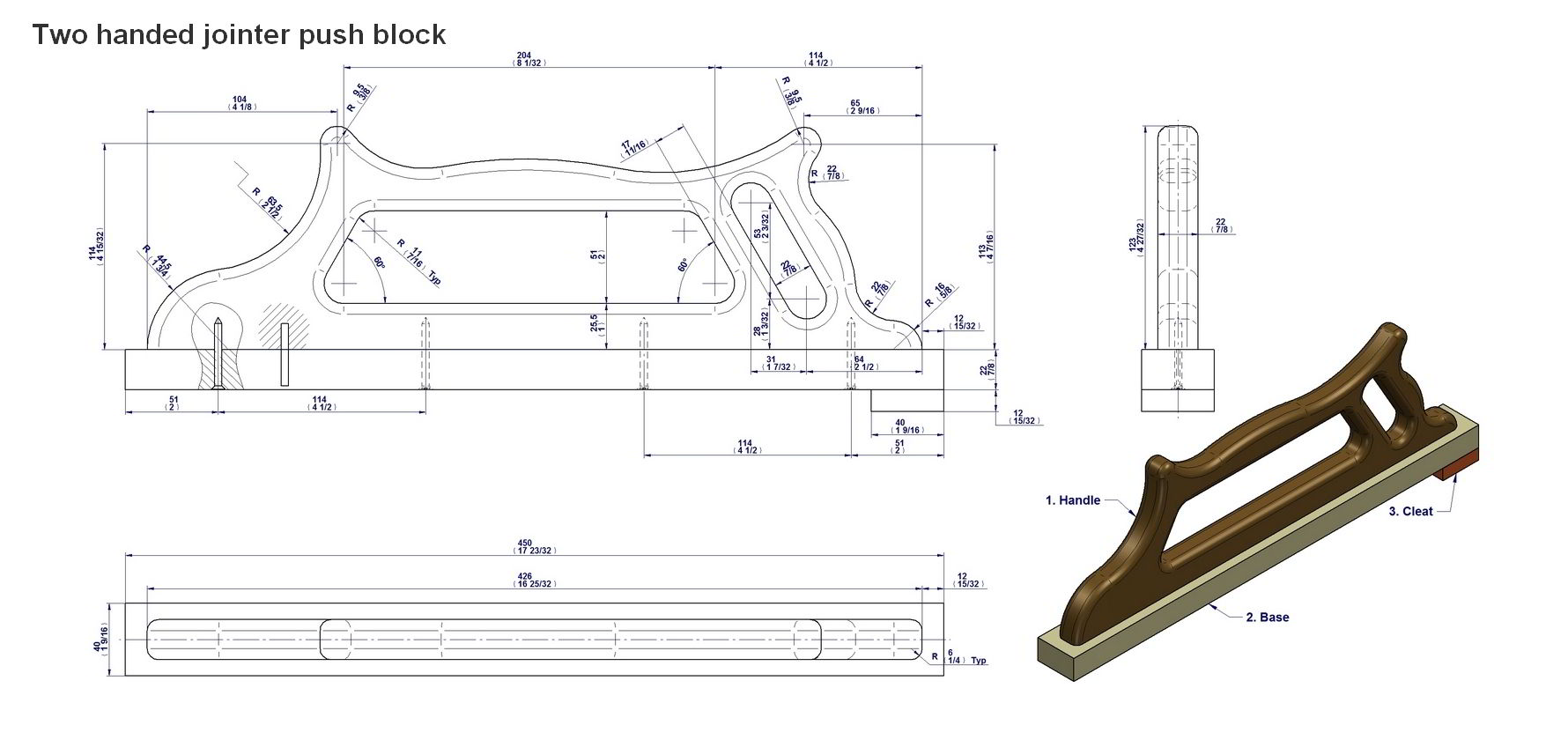 picture regarding Table Saw Push Stick Printable Template identified as Force adhere and drive block courses