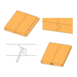 Tongue and groove joints