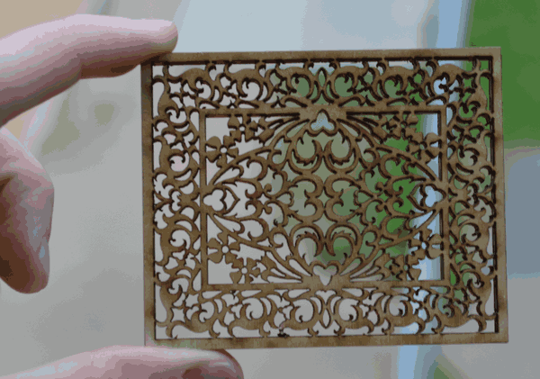 Fretwork panel - Finished