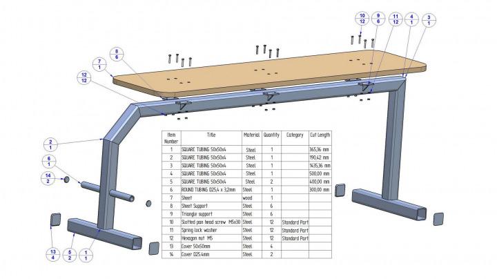 Flat Bench Press Plans Craftsmane