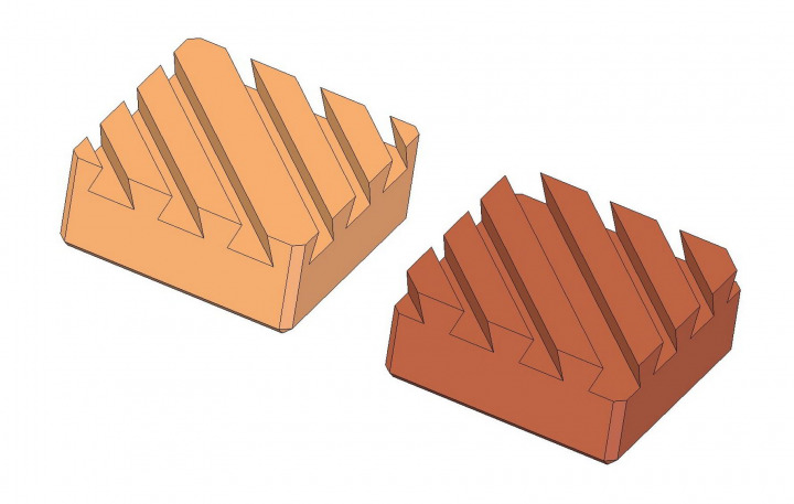 Triple dovetail wooden puzzle - Solution