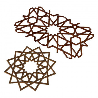 Moorish lattice 3D models