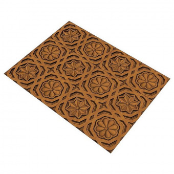 Moorish panel suitable for carving