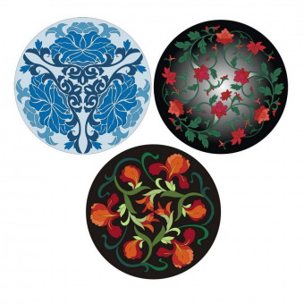 Chinese flower designs