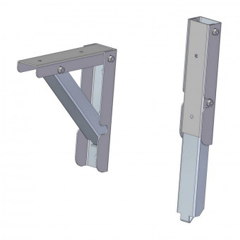 Folding Metal Shelf Bracket From Scrap Craftsmanspace