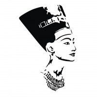 Nefertiti Vector Pattern