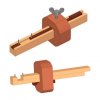 Plans for making mortise gauges