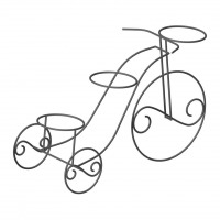 Rustic tricycle planter plan