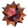 Great dodecahemidodecahedron 3D model