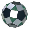 Small rhombidodecahedron 3D model