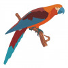 Parrot vector pattern