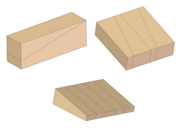 Keyed mortise and tenon joint - Making keys