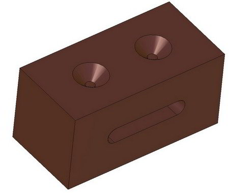 Screw block